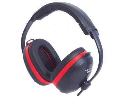 Radians Silencer 26 dB Over the Head Earmuff, Red/Black - SL0130CS
