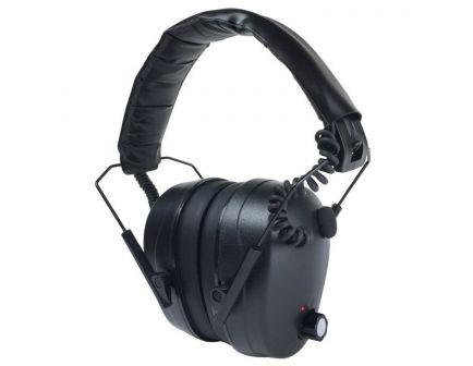 Radians 26 dB Over the Head Tactical Electronic Earmuff, Black - CSE20BX