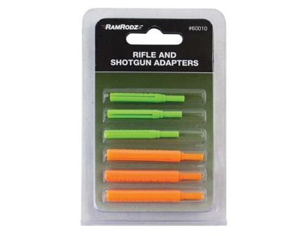 RamRodz 8-32 Cleaning-Rod Adapter, Orange/Green - 60010