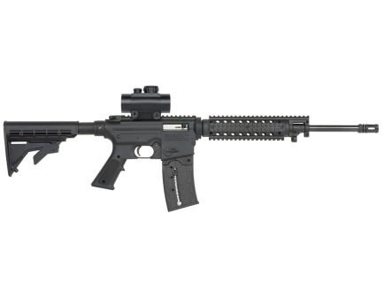 Mossberg 715T Flat Top Red Dot Combo 22 LR 25+1 Semi Auto Rifle, Adjustable - 37234