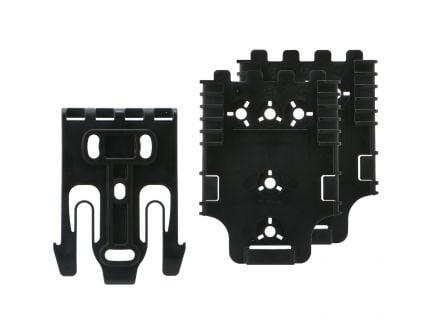 Safariland QLS Quick Locking System Kit, Black - QUICKKIT12