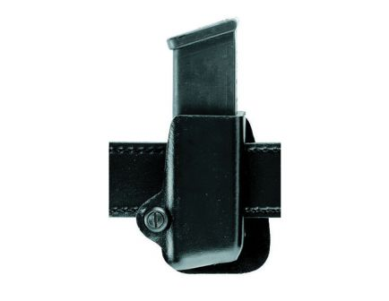 Safariland 074 Open Top Single Conceal Magazine Pouch for Glock 20/21 Pistols, Plain Black - 074-383-411