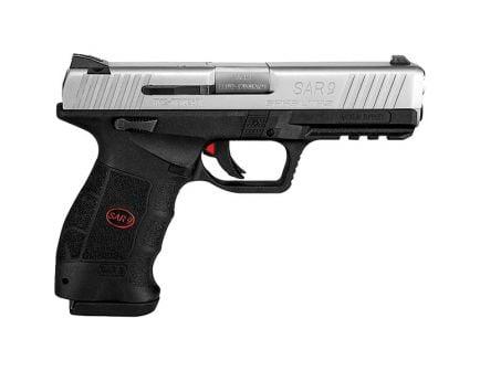 SAR USA SAR9 9mm Pistol, Blk - SAR9ST10