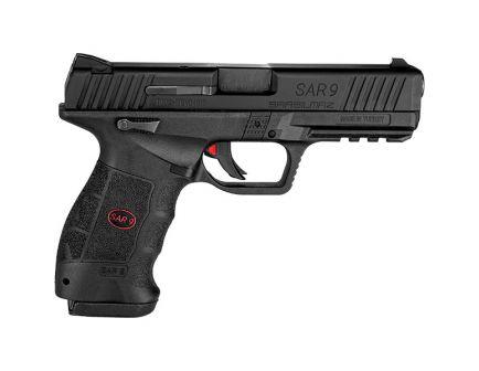 SAR USA SAR9 9mm Pistol, Blk - SAR9BL10