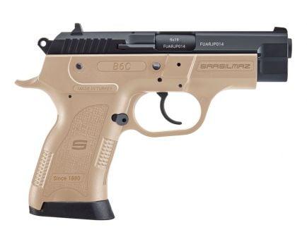 SAR USA B6C Compact 9mm Pistol, FDE - B6C9FD