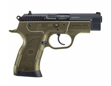 SAR USA B6C Compact 9mm Pistol, OD Green - B6C9OD