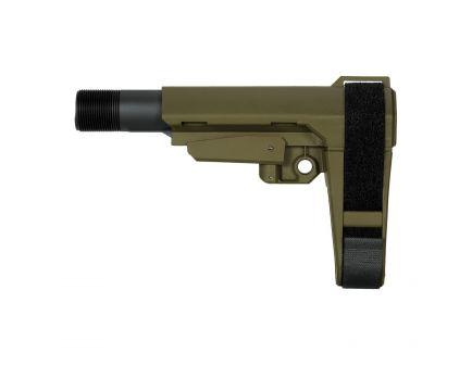 SB Tactical SBA3 Pistol Stabilizing Brace for Carbines, Olive Drab Green - SBA304SB