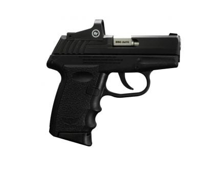 SCCY CPX-3RD .380 ACP Pistol, Blk - CPX-3TTRD