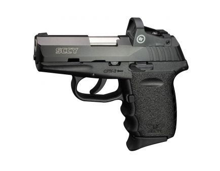 SCCY CPX-2RD 9mm Pistol, Blk - CPX-2TTRDDE