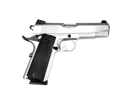 SDS Imports 1911 Carry SS45 .45 ACP Pistol w/ Rail, Stainless - 1911CSS45R