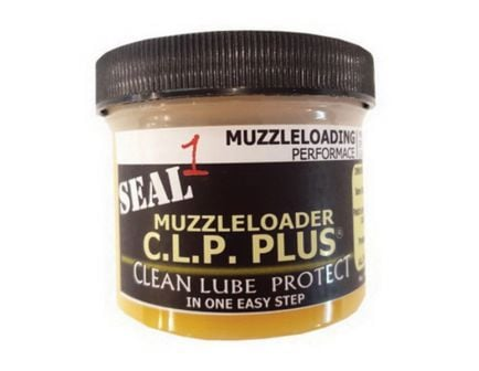 Seal 1 Muzzleloader CLP Plus Cleaner/Lubricant/Protectant, 4 oz Jar - MLP4