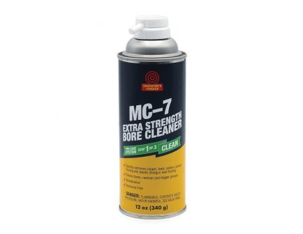 Shooter's Choice MC-7 Extra Strength Bore Cleaner, 12 oz Aerosol Can - MC7XT