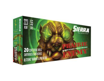 Sierra GameChanger 55 gr Sierra BlitzKing .223 Rem Ammo, 20/box - A1455--09