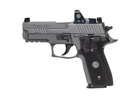 Sig Sauer P229 Legion RX Compact 9mm Pistol, Legion Gray PVD - 229R-9-LEGION-RXP