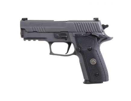 Sig Sauer P229 Legion Compact SAO 9mm Pistol, Legion Gray Cerakote Elite - 229RM-9-LEGION-SAO