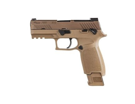 Sig Sauer P320-M18 Carry 9mm Pistol, Stainless - 320CA-9-M18-MS-10