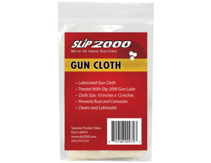 "Slip 2000 Lubricated Gun Cloth, 10"" x 12"" - 60970"