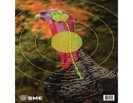 """SME 24"""" x 16.5"""" Turkey Target, 3/pack - SME-TRG-TRKY"""