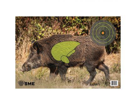 """SME 24"""" x 16.5"""" Feral Hog Target, 3/pack - SME-TRG-HOG"""