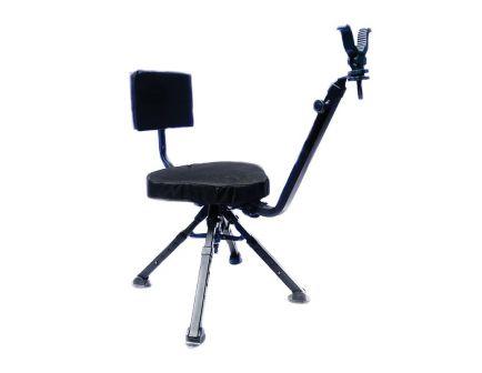 Benchmaster 4-Leg Ground Blind Chair, Black - BMGBSC2