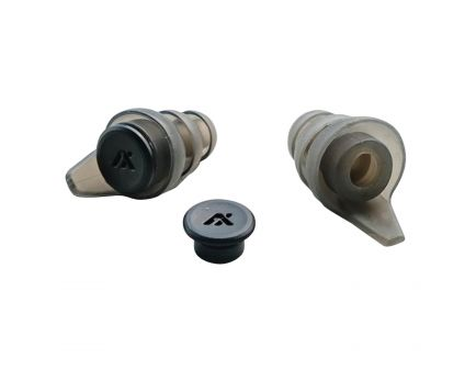 Axil Sportear XP Reactor 33 dB Earplugs, Gray - XPRSM/L