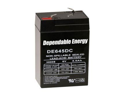 American Hunter HR Rechargeable Battery, 6 Volt, 4.5 mAh -DE30052