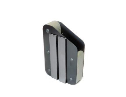 Benchmaster WeaponRac Black Metal Magnetic Strip Right Side Single Pistol Rack - BMWRM3AMS