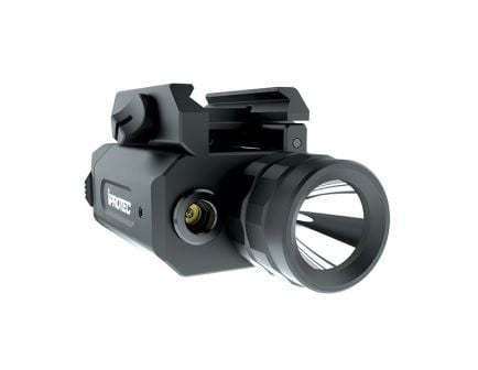 iProtec RM230LSG 230/46/230 lm LED Water-Resistant Impact-Resistant Weapon Light and Laser Combo, Black - 6567