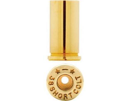 Starline Brass Small .38 Short Colt Unprimed Brass Cartridge Case, 100/bag - Star38SCEUP1