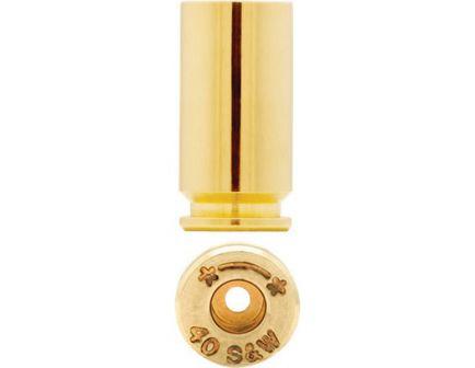 Starline Brass Small .40 S&W Unprimed Brass Cartridge Case, 100/bag - Star40EUP100