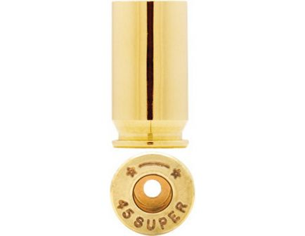 Starline Brass Large .45 Super Unprimed Brass Cartridge Case, 50/bag - Star45SupEUP