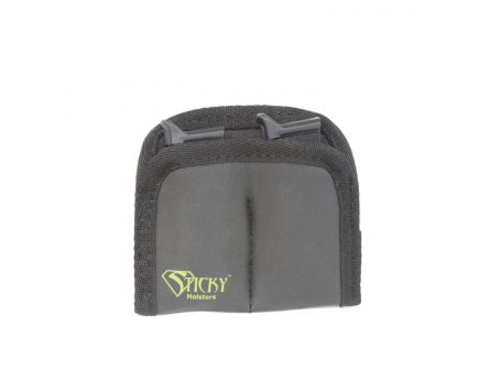 Sticky Holsters IWB/Pocket Dual Mini Mag Sleeve, Black with Green Logo - DMMS