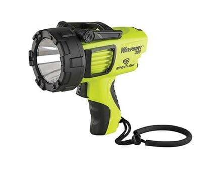 Streamlight WayPoint 300 1000/550/35 lm LED High Lumen Long Range Rechargeable Spotlight, Yellow - 44910