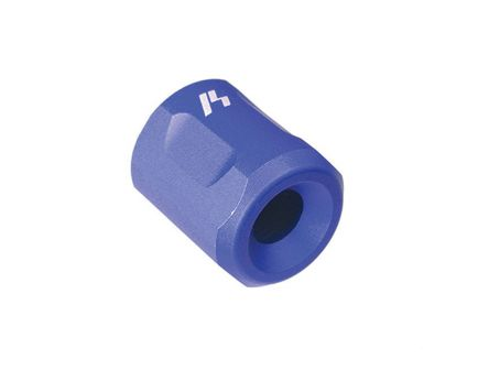 Strike Industries Barrel Thread Protector, 1/2-28, Blue - BCTPBLU