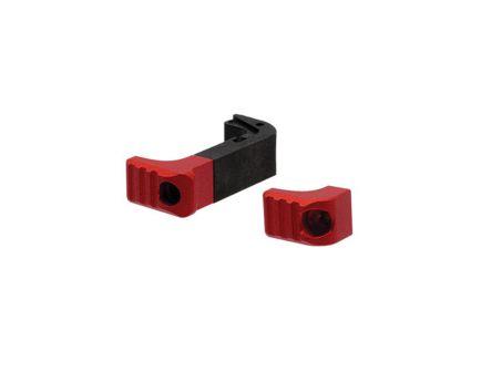 Strike Industries Modular Magazine Release for Glock 17, 19, 19x, 45 Gen 4-5 Pistols, Red - G4MAGRELEASERED