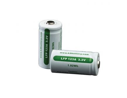 Surefire 3 V Rechargeable Lithium-Phosphate Battery, 2/pack - SF2R-CB