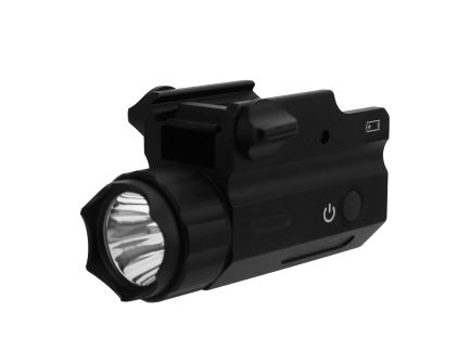 Tacfire 360 lm Full Sized Pistol Flashlight, Black - FLP360-F