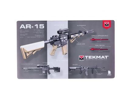 """TekMat AR-15 Weapons Platform Design Door Mat, 42"""" W x 25"""" H x 0.125"""" T, Multi-Color - 42-AR15-WPD"""