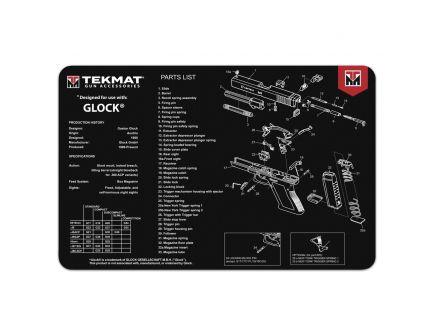 "TekMat Glock Gun Cleaning Mat, 17"" W x 11"" H x 0.125"" T, Black/White - R17GLOCK"