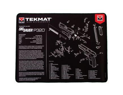 "TekMat Sig Sauer P320 Ultra Premium Gun Cleaning Mat, 20"" W x 15"" Hx 0.25"" T, Black/White - R20-SIGP320"