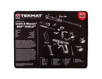 "TekMat Smith & Wesson M&P Shield Ultra Premium Gun Cleaning Mat, 20"" W x 15"" Hx 0.25"" T, Black/White - R20-SW-MP-SHIELD"