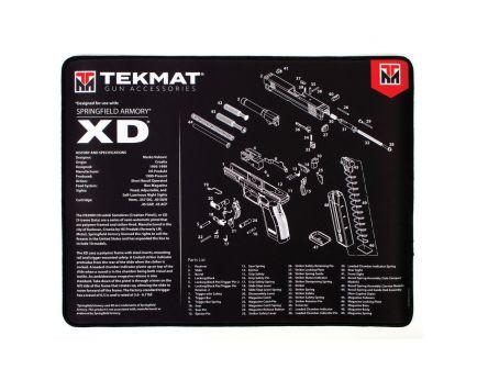 "TekMat Springfield Armory XD Ultra Premium Gun Cleaning Mat, 20"" W x 15"" Hx 0.25"" T, Black/White - 20-XD"