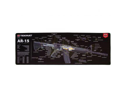 "TekMat AR-15 Cutaway Ultra Premium Gun Cleaning Mat, 44"" W x 15"" Hx 0.25"" T, Multi-Color - R44-AR15-CA"