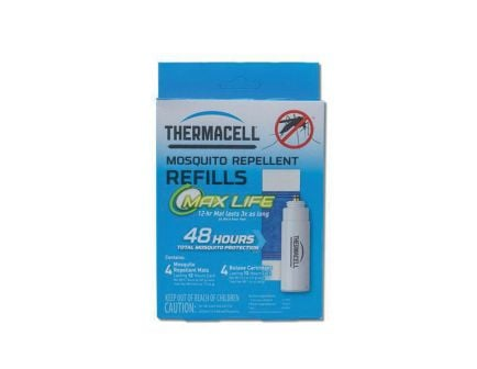 "Thermacell Max Life Mosquito Repellent Refills, 5.5"" L x 4.1"" W x 1.7"" H - L4"