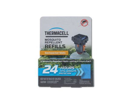 "Thermacell Backpacker Mat-Only Refills, 5.25"" L x 4.25"" W x 1.75"" H - M48"