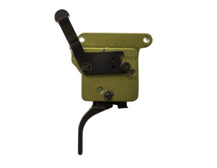 Timney Triggers Elite Hunter Straight Drop-in Right Hand Trigger for Remington 700 Rifles, Black - 517-V2
