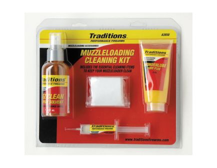 Traditions Firearms Firearm Basic Cleaning Kit - A3850