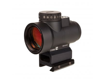 Trijicon MRO HD 1x25mm Red Dot Sight w/ Full Cowitness Mount, Adjustable 68 MOA Reticle - MRO-C-2200052