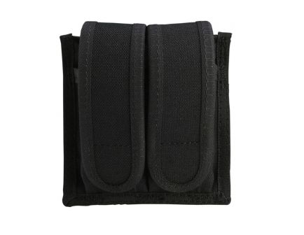 Uncle Mike's Double Magazine Case for 10mm/45 Cal Magazines, Universal, Textured Black - 8829