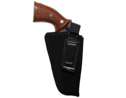 Uncle Mike's Size #2 Right Hand Concealed Carry IWB Holster w/ Retention Strap, Textured Black - 7602
